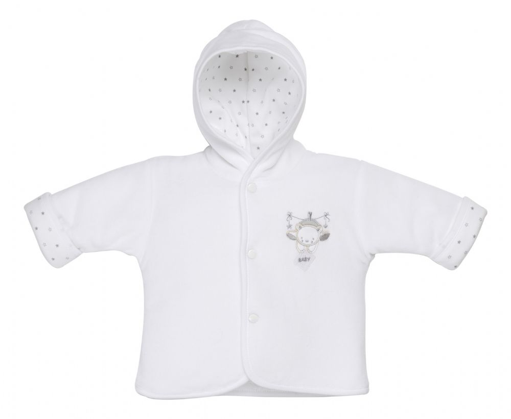 AV1871 Tiny baby bear Jacket (white)